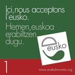 nous acceptons l'eusko